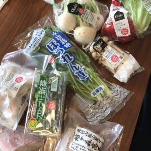オイシックスで注文した野菜