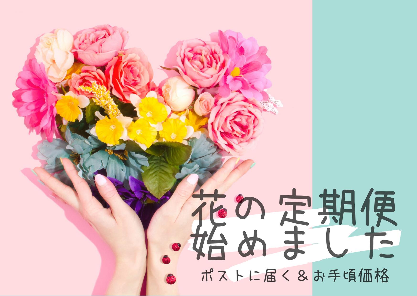 花の定期便ブログアイキャッチ