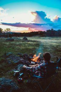 キャンプ楽しみ