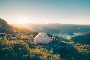 キャンプしよう